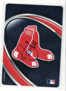BILL LEE BOSTON RED SOX  1969-1978 AUTOGRAPHED PLAYING CARD