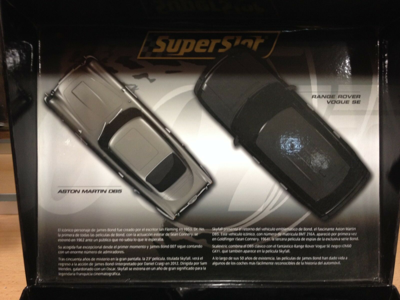 Superslot,Aston Martin DB5 & Range Rover Vogue SE,Ref.01-90033