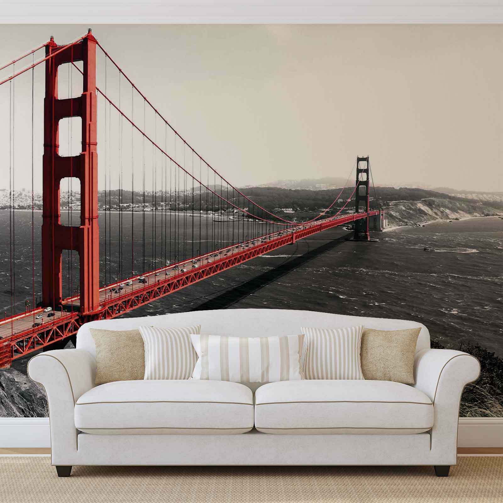 WALL MURAL PHOTO WALLPAPER XXL City golden Gate Bridge (154WS)