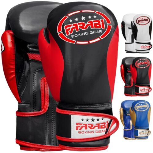 Farabi Kids Boxing Gloves Sparring Training Kick Boxing Martial Arts Gloves