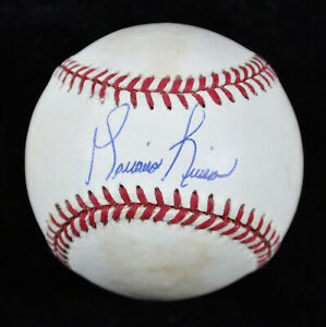 cheaper 17a0c 91da4 Details about Mariano Rivera Signed American League Baseball JSA Cert EARLY  SIGNATURE