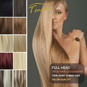 14-039-039-24-039-039-Full-Head-Clip-in-Remy-Hair-Extension-100-Real-Human-Hair-Any-Color