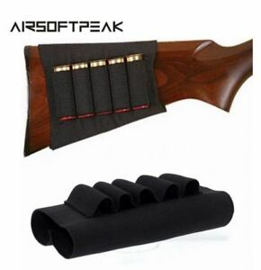 Manchon-Cartouchiere-Crosse-Fusil-Etui-Airsoft-Chasse-Holder-Rifle-Cartridges