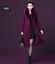 Winter-Elegant-Women-Cashmere-Wool-Blend-Trench-Overcoat-Fur-Collar-Long-Coats thumbnail 5