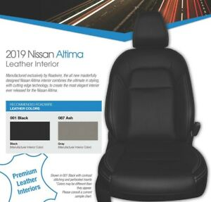 Details About Fits Nissan Altima 2019 S Sv Sr Sedan Leather Interior Kit Factory Colors