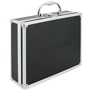 AR-Carry-Box-Aluminium-Koffer-schwarz-leer-Werkzeugkoffer-Alu-Box-Kiste-Kasten