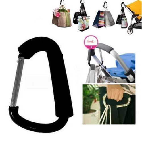 Strong Buggy Pram PushChair Clip Aluminium Stroller Pushchair Bag Hook Holder T
