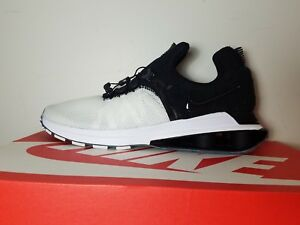 official photos eb281 195d0 Image is loading Nike-Shox-Gravity-Black-White-AR1999-101-Running-