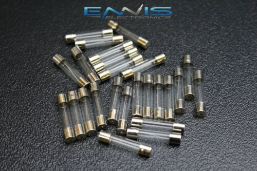 100 PACK 3 AMP AGC FUSES NICKEL PLATED GLASS FAST BLOW 1 1//4-1//4 INLINE AGC3