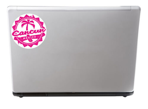 2 x 10cm Cancun Mexico Vinyl Sticker iPad Laptop Flag Luggage Travel Tag #5100