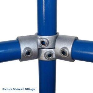 Clé De Serrage 148-b34 - Inline Pivotant Tee 34mm 148 34 B échafaudage Tube Clamps Pour Ste-afficher Le Titre D'origine