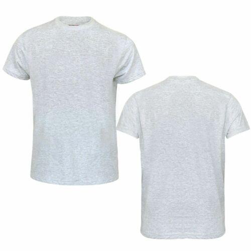 Mens Plain T-shirt Mens Cotton Crew Neck T-Shirts Tee Top Longline Muscle M-6XL