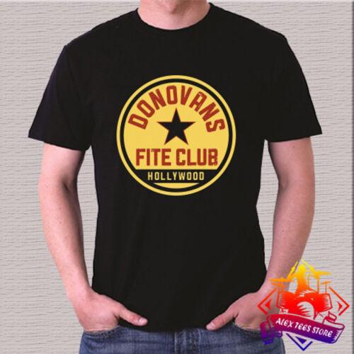 3XL Donovan/'s Fite Club Boxing Men/'s Black T-Shirt Size S
