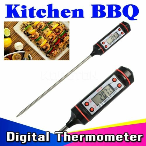 Electronic Meat Thermometer Kitchen Tools Digital Food Thermometers Probe R8H0
