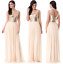 Goddiva-Sequin-Chiffon-V-Neck-Maxi-Evening-Dress-Prom-Bridesmaid-Ball-Party thumbnail 2
