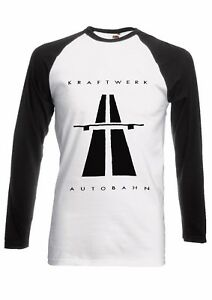 Autobahn-Kraftwerk-Men-Women-Long-Short-Sleeve-Baseball-T-Shirt-1809E
