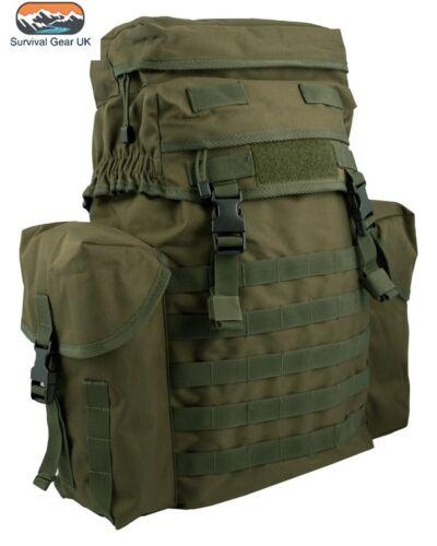 Kombat Nylon 38 Litre N.I Olive Green Patrol Molle Bergen Rucksack Backpack
