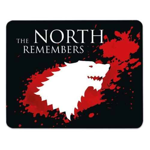 GOT Fan Mousepad /'The North Remembers/' 24x19cm GAME OF THRONES