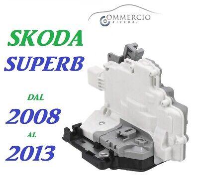 FRECCIA porta centralizzata MOTORE ANTERIORE DESTRO PER SKODA SUPERB 3c1837016a