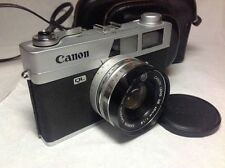 Canon Canonet QL19 35mm Rangefinder Camera with 45mm f1.9 Lens