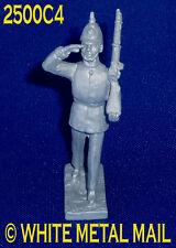 Fundición de plomo militar 2500C4 1:32 escala Infantería de Línea británico marchando Salute