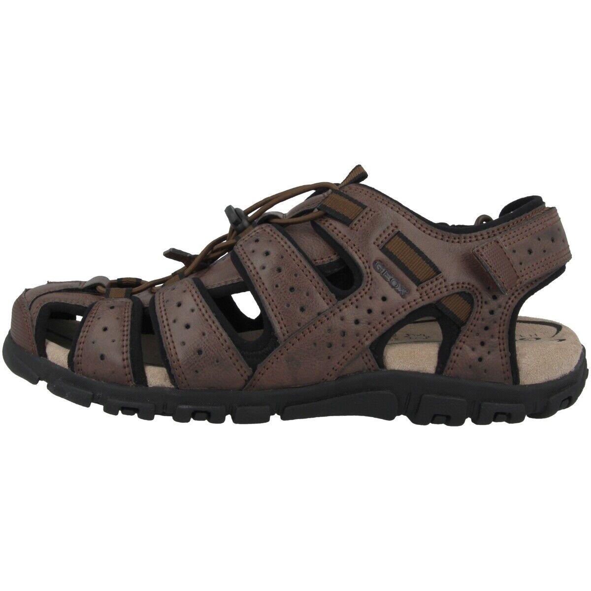 GEOX U S.Strada B Schuhe Sling Sandalen Trekking Sandaletten U6224B0MEBCC0013