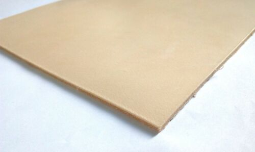 """30x20 8/"""" X 12/"""" cm VEG TAN LEATHER HIDE NATURAL A-GRADE CHOOSE YOUR THICKNESS"""
