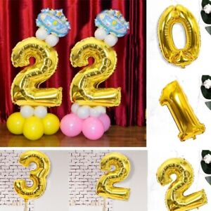 2-Colors-Helium-Number-Foil-Balloons-Wedding-For-Kids-Birthday-Party-Decor-cby