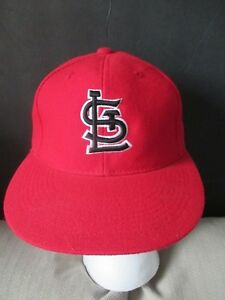 new concept ac0a9 66685 Image is loading NWOT-MLB-ST-LOUIS-CARDINALS-EMBROIDERED-LEADER-BRAND-
