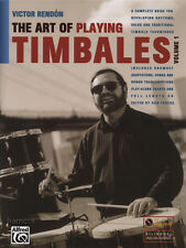 L'arte di giocare Timbales volume 1 Drum Musica libro/cd da VICTOR Rendon