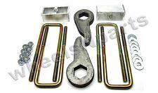 "Lift Kit Front Torsion Keys Rear 4"" Blocks 88 - 98 GM 1/2 ton 6 Lug Truck & SUV"