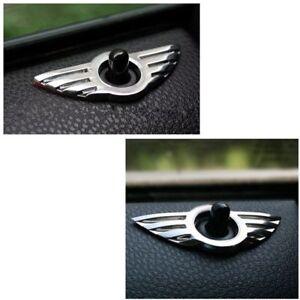 Auto-3D-Tuer-Pin-Abzeichen-Emblem-fuer-BMW-MINI-Cooper-S-ONE-Roadster-Clubman