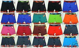 PUMA-hombre-calzoncillos-boxers-Pequena-Mediana-Grande-Xl-Negro-Azul-Gris-Rojo