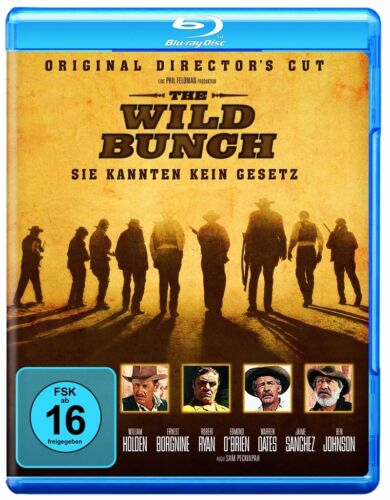 1 von 1 - Blu-ray * The Wild Bunch (Director's Cut) * NEU OVP * Sam Peckinpah