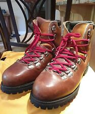 VINTAGE TIMBERLAND NORDIC HIKING MOUNTAINEERING BOOTS Sz 9 WIDE MADE IN USA