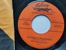 """LOS PAVOS REALES - Traidora O Traicionera / Buscando Olvido RANCHERA Tex-Mex 7"""""""