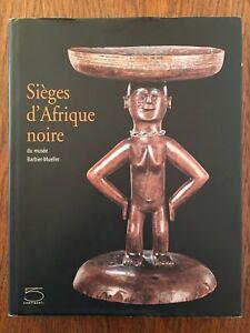 Sièges d'Afrique noire du musée Barbier-Mueller - 5 Continents