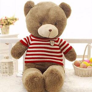 New-80CM-Giant-Huge-Big-Cute-Teddy-Bear-Stuffed-animals-Plush-Soft-Toys-doll