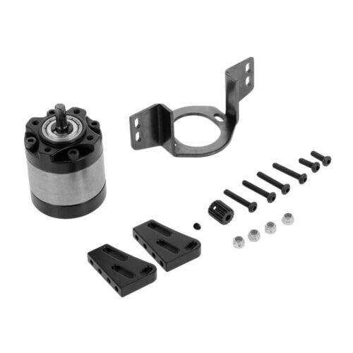 Metal 1//5 Planetary Gear Box for 1:10 D90 D110 Axial RC Car DIY Accessory