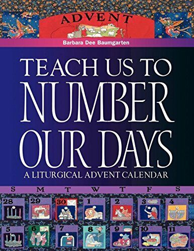 Teach Us to Number Our Days, Baumgarten, Bennett 9780819217653 Free Shipping,,