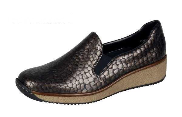Rieker Schuhe Damen Gr.36-42  Slipper,  56466-90, Gr.36-42 Damen +++NEU+++ cc67d3