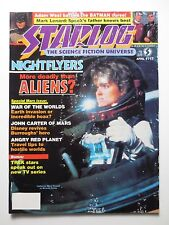 Starlog #117 1987 Adam West Batman Nightflyers War of the Worlds Star Trek (M926