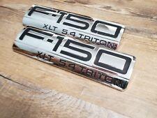 2009-2014 FORD F-150 FX2 LEFT SIDE FENDER BADGE EMBLEM OEM #AL3J-16B115-AA