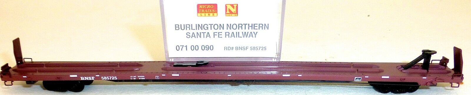BURLINGTON NORTHERN SANTA FE BNSF 585725 microtrains 07100090 N 1:160 conf.