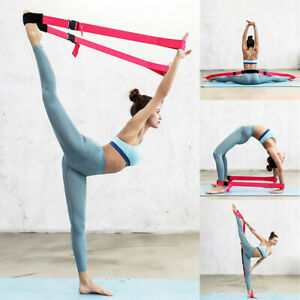 2M Unisex Stretch Out Yoga Strap Flexible Loops Pilates Workouts Tension Band