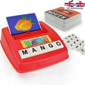 Alphabet-Lettre-Jeu-Montessori-Tot-Anglais-Spelling-Apprentissage-Jouet-Educatif