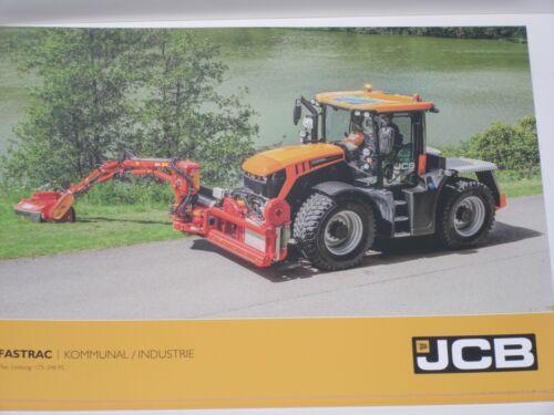 INDUSTRIE Traktoren Prospekt von 11//2017 7213 JCB FASTRAC 4000 KOMMUNAL