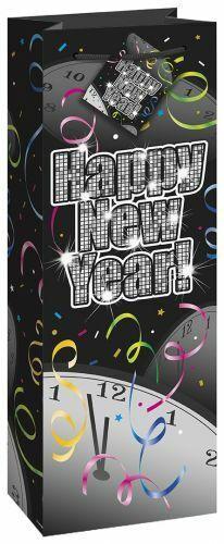 Silvester Partydeko Geschenktüte Countdown To Happy New Year Neujahr Sekttüte
