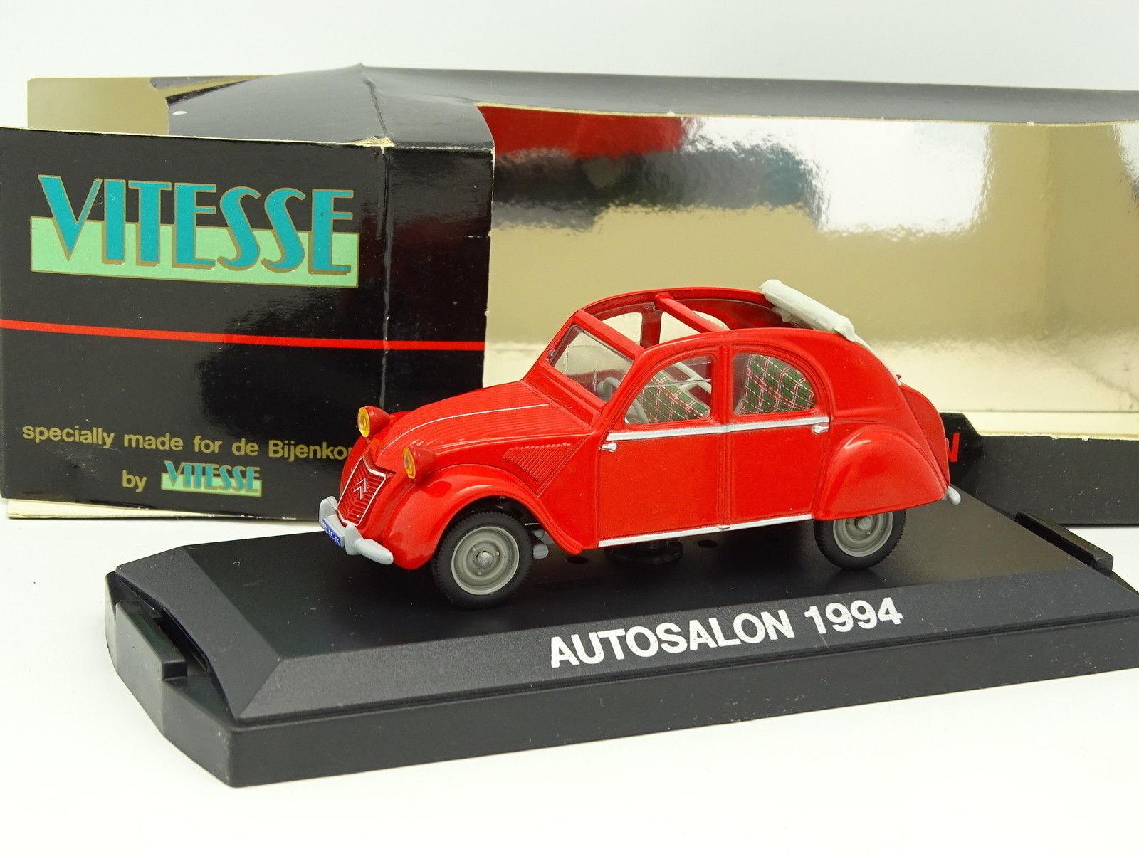 Vitesse 1 43 - Citroen 2CV red 1953 AutoSalon AutoSalon AutoSalon 1994 016e11