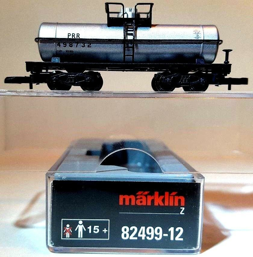 Z Scale Marklin Mini-Club 82499-12 PRR 39' Single Dome Tank Car
